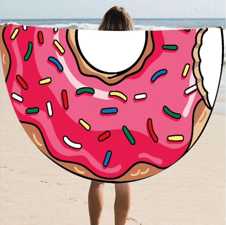 Hot Spot European And American Style Silk Round Beach Towel Beach Towel St06-35