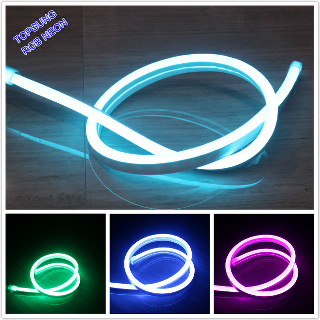 10m dc12v rgb neon flex 14x26mm smd5050 flexible led neon lights 10m dc12v rgb neon flex 14x26mm smd5050 flexible led neon lights ip67 outdoor holiday lighting color mozeypictures Gallery