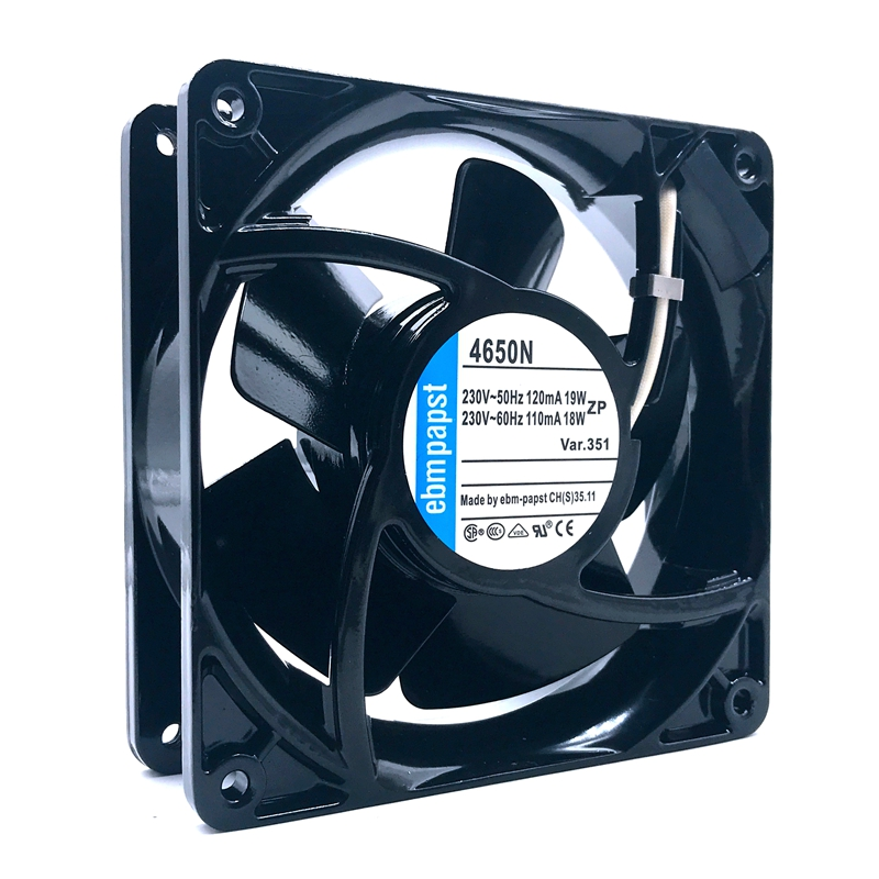 4650N Original Brand  New For PAPST EbmFor PAPST 4650 4650n 230V-50HZ 110MA/120MA  18W/19W Cabinet Cooling Fan