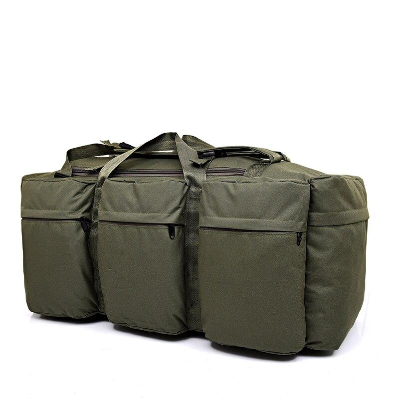 Sac à dos tactique militaire pour hommes de grande capacité 90L sac à bandoulière étanche pour bagages à main sac à bandoulière Oxford randonnée Camping sac de voyage - 6