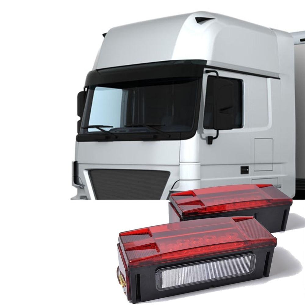 Remorque camion camion LEDTail lumière lampe voiture-remorque feu arrière inversion frein tournant feux arrière