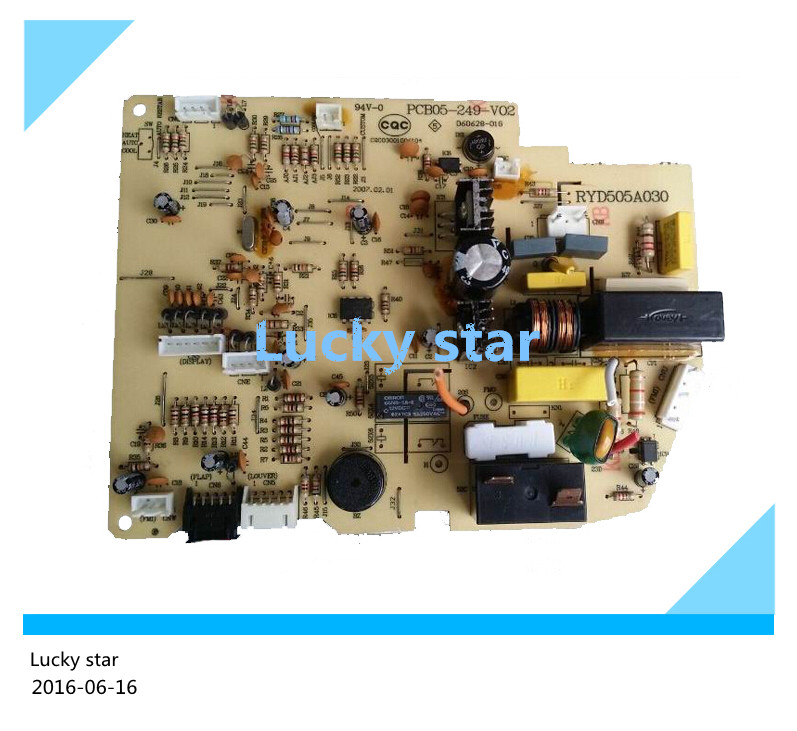 95% new for Mitsubishi Air conditioning computer board circuit board PCB05-249-V02 RYD505A030 board good working 95% new used for mitsubishi air conditioning board computer board rya505a303 good working
