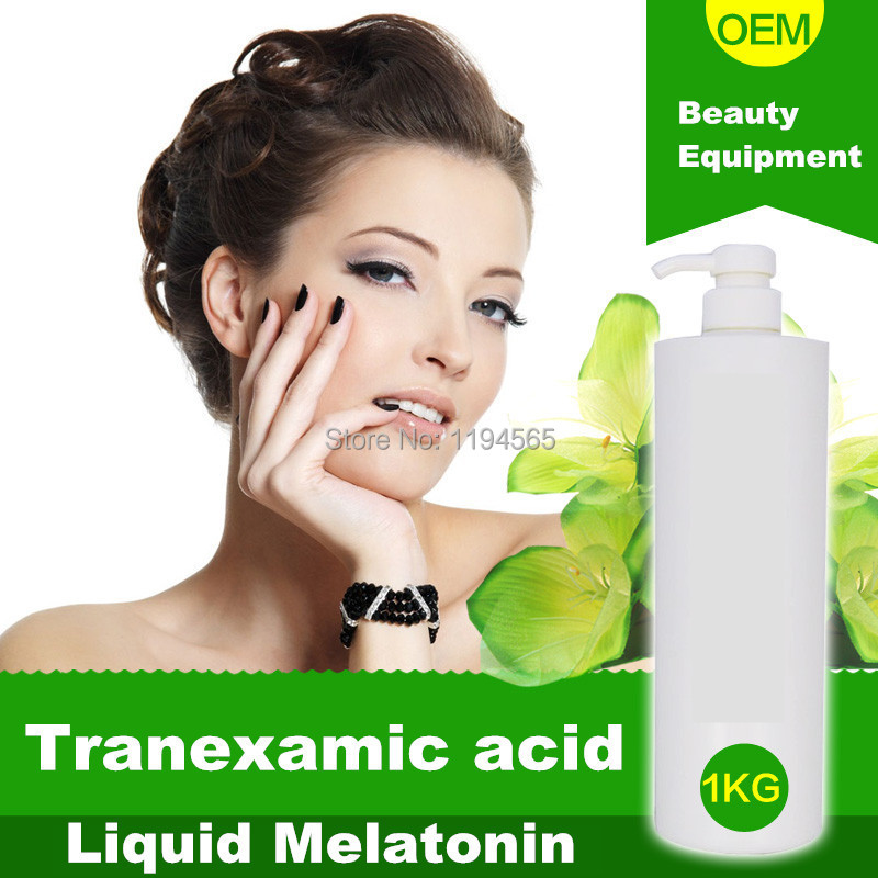 Tranexamic Acid Liquid Blemish Whitening Melatonin  Speckles Freckles Best Whitening Cream For Face 1000ml 1 bottle melatonin softgel melatonin soft capsule improve health anti aging protect prostate improving sleep