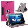 """Para Prestigio MultiPad PMT3047 Wize 3047 3G 7 """"Polegadas 360 Graus de Giro Tablet Universal PU caso capa de Couro CANETA livre"""