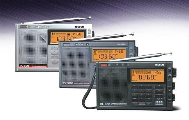 PL-600 PLL Synthesized SSB Radio Receiver FM Stereo//SW//MW//LW//SW