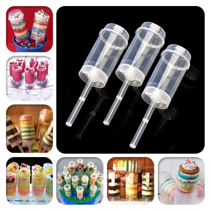 cdd35b17c137 US $5.14 8% OFF|10pcs/lot Cake Push Pop Containers Baking Addict Wholesale  Clear Push Up Cake Pop Shooter(Push Pops) Plastic Containers-in Dessert ...
