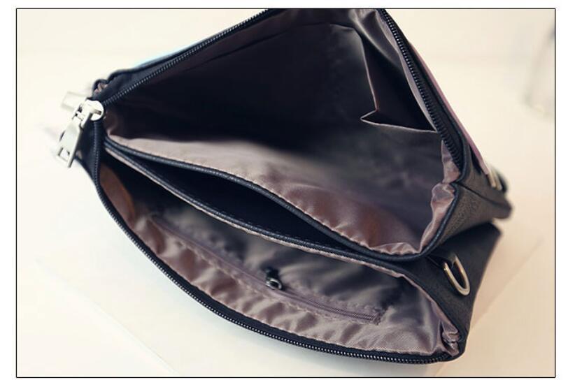 Rivet Clutch Messenger Crossbody Bag*