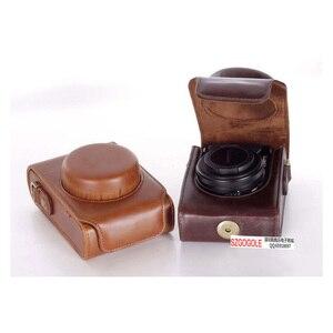 Image 3 - PU leather case Camera Bag Cover for Panasonic Lumix LX7 LX5 LX3 LX10 LX15 shoulder bag