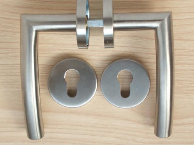 Door decoration stainless steel lever tube handle