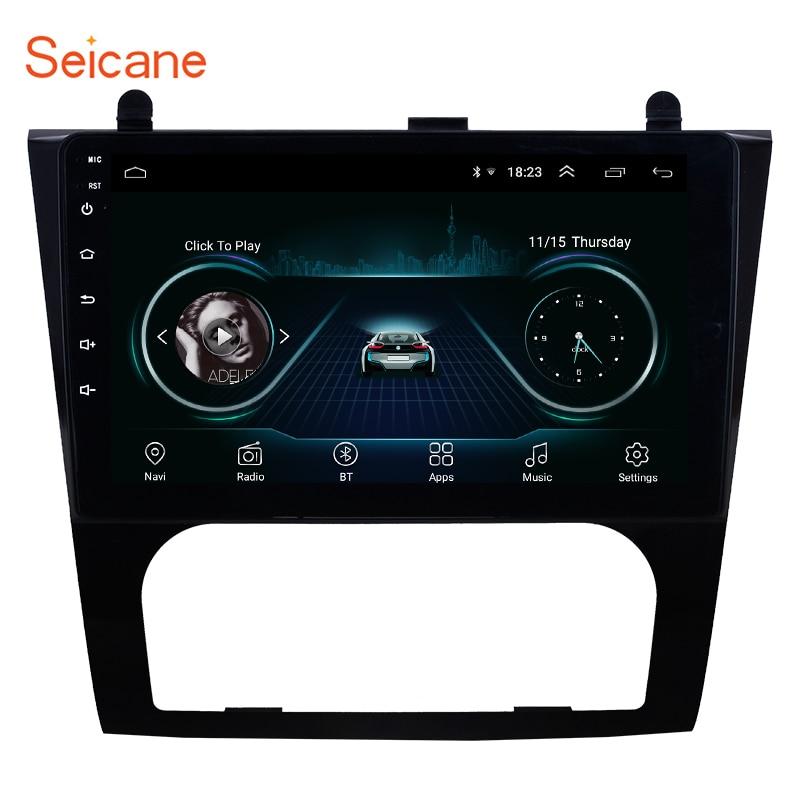 Seicane Android 8.1 2Din GPS lecteur multimédia de voiture pour 2008 2009 2010-2012 Nissan Teana ALTIMA Auto A/C support miroir lien
