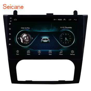 Seicane Android 8.1 9 inch Car GPS Navigation Radio for 2008-2012 Nissan Teana Altima Auto A/C Multimedia Player support OBD DVR - Category 🛒 Automobiles & Motorcycles