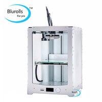 Blurolls ultimaker 2 extended impressora 3d clone diy kit completo/conjunto (não montar) único bocal ultimaker2 estendido + 3 d impressora