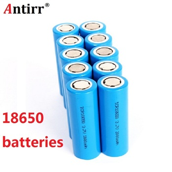 original 3.7V 2000 MAH Li ion rechargeable 18650 battery discharge 20A for Electronic cigarette toys tools flashlight LG m2