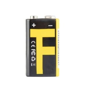 Image 4 - 1 chargeur dusb de batterie au Lithium Rechargeable de 9V 550mAh pour le Microphone de multimètre