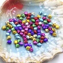 Новинка 100 шт колокольчики Подвески украшения DIY для рождественской вечеринки браслет Детские подарки NE