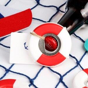 Image 5 - OurWarm 20pcs Lifesaver Bottle Opener Nautical Theme Baby Shower Wedding Favor and Gifts DIY Decorations Lifebuoy