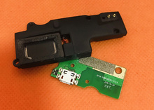 Used Original USB Plug Charge Board+loud speaker For HOMTOM ZOJI Z7 MTK6737 Quad Core 5.0 Inch Free shipping