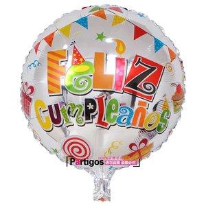 Image 5 - 100pcs Wholesale 18 inch Spanish Happy Birthday Foil Balloons Mix Style Birthday Party Decoration Helium Inflatable Balao Globos