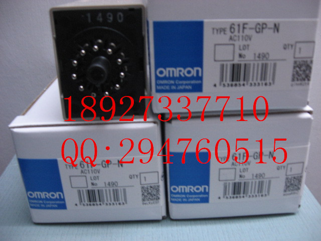 [ZOB] Supply of new original omron Omron level switch 61F-GP-N AC110V [zob] supply of new original omron safety door switch d4nl 1dfa bs