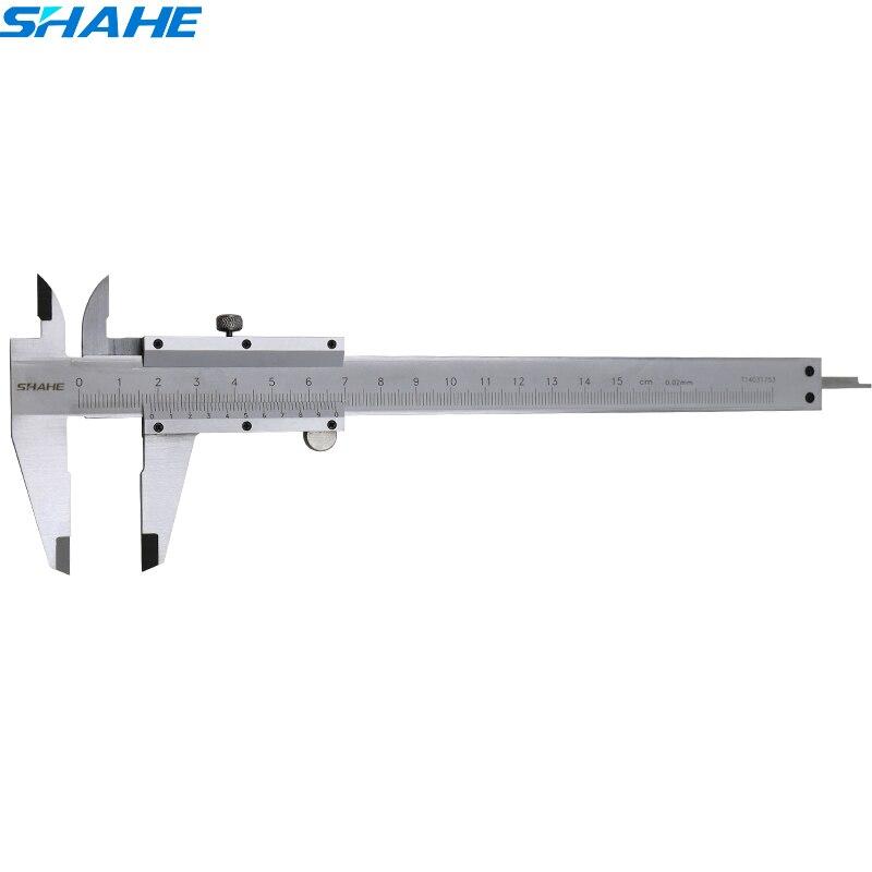 0-150mm edelstahl Messschieber Skala Tiefe gauge Gauge Sattel edelstahl messschieber 150 mm