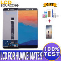 5.9 For Huawei Mate 9 LCD screen Touch Screen + Frame Sensor Glass Panel Digitizer Assembly For Huawei Mate 9 Display replace