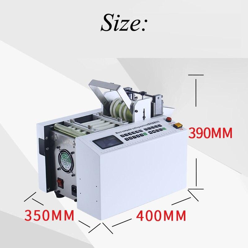 DG-100B máquina automática de corte de tubos de ordenador tubo retráctil de calor teflón de Gel de sílice cuerda de alambre de PVC