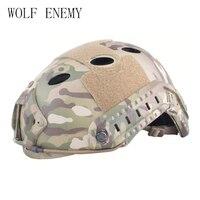 Deluxe Edition FAST Helmet PJ TYPE Adjustable Protective Helmet Pararescue JumpHelmet Foliage Gree