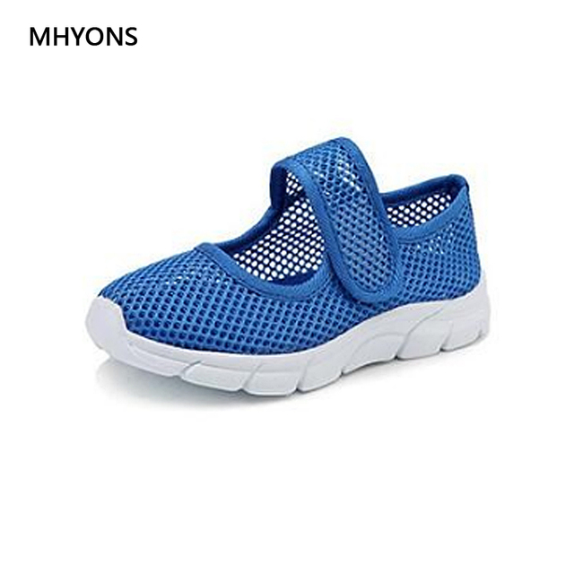MHYONS Top Selling Summer 5 Color Children Shoes Boys Sneakers Baby Girls Net Breathable Casual Sport Shoes Kids Soft Shoes B3