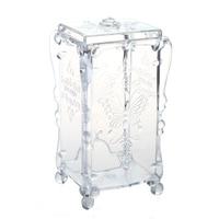 5 X SNNY Swab Organizer Cotton Pad Box Jewelry Box Jewelry Box Cosmetic Case Acrylic