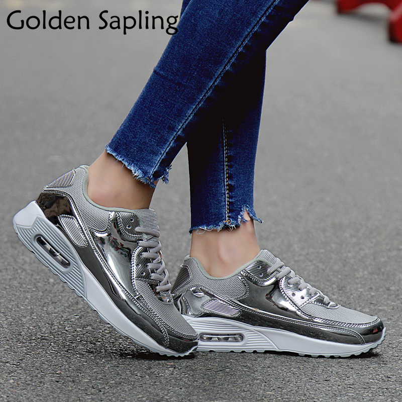 Golden Sapling Summer Womens Tennis Shoes Women Breathable Women s Sneakers Air Mesh Fabric Ladies Sport