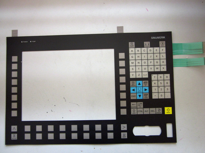 OP012 6FC5203-0AF02-0AA1 Industrial equipment operation panel with Membrane Keypad film