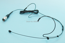 Headset Headworn Microphone For Audio Technica Wireless System With 4 Pin Black Connector AT-A001