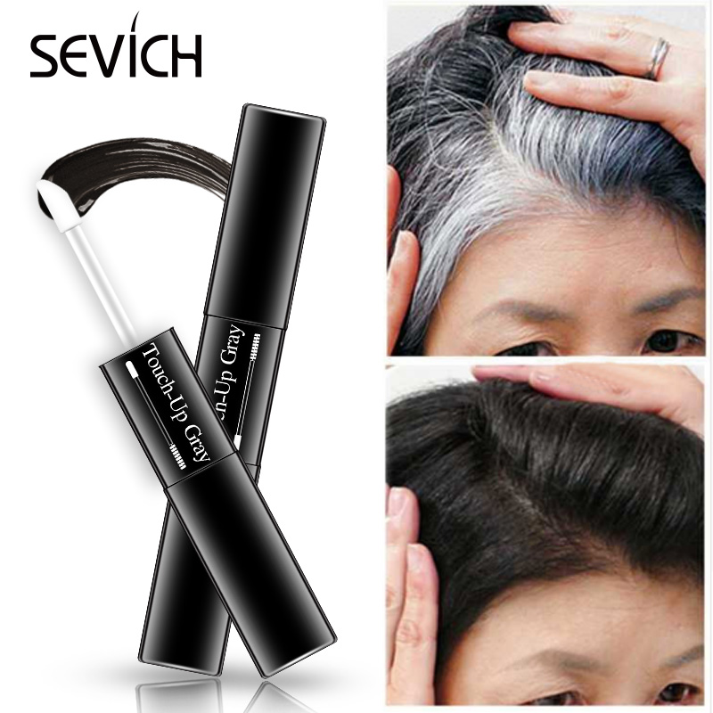 Temporary Hair Dye 2 In 1 Applicator Hair Color Brush And Comb  DIY Hair Color Wax Mascara Dye Cream Sevich 3 Colors How Sell