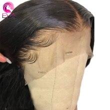 """Eva волосы прямые Боб короткий парик 180% или 250% плотность 360 кружевных фронтальных париков Детские волосы отбеленные узлы 1""""-24"""" бразильские волосы remy"""