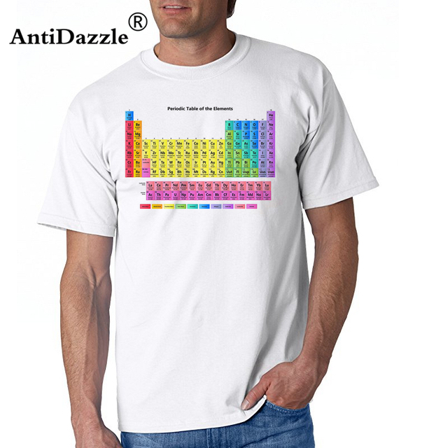 072e6a9c6 Periodic Table of Elements T Shirts Geek Science Chemistry Math Nerd Funny Vintage  Retro Tops Novelty Short Sleeve Tees