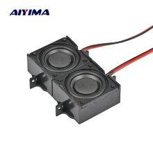 AIYIMA 2 шт. аудио портативный динамик s Altavoz 8 Ом 5 Вт ЖК-телевизор рекламный динамик Ses sitemi Altavoces Hoparlor DIY домашний кинотеатр