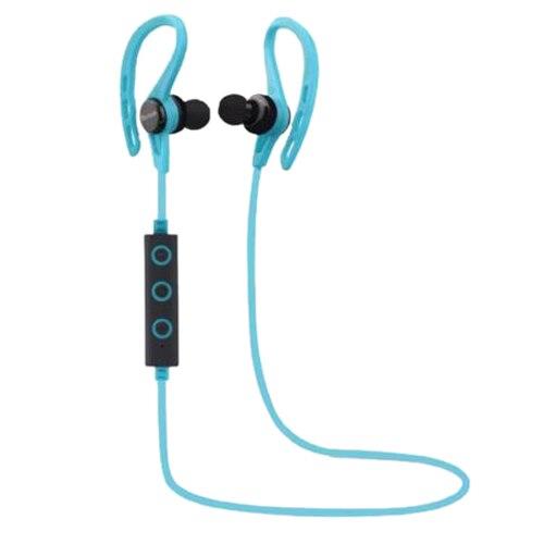 HFES New Wireless Sports Stereo Sweatproof Bluetooth Earphone Headphone Earbuds Headset, Blue