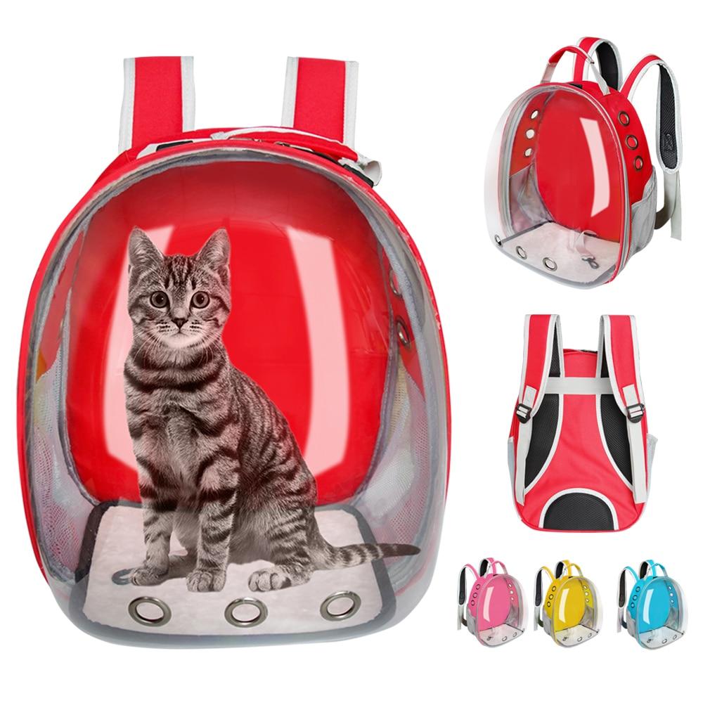 Transparent Cat Carrier Backpack