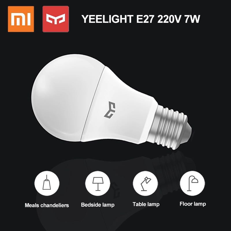 Image 5 - Xiaomi Yeelight LED Bulb Cold White 25000 Hours Life 5W 7W 9W 6500K E27 Bulb Light Lamp 220V for Ceiling Lamp/ Table Lamp-in Smart Remote Control from Consumer Electronics