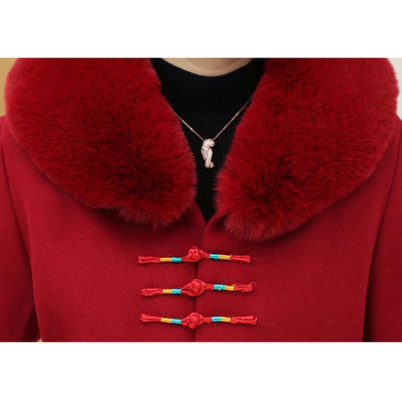 Vintage Pardessus Plus Manteau D'hiver Pu Nw1044 Ciel Laine Automne La D'âge 2018 Femelle Mode Moyen Manteaux marine De Taille Nouveau pourpre Veste Floral Femmes rouge Bleu 7FawFEzq