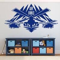 壁用シールステッカーファイター航空輸送を米国陸軍空軍子供