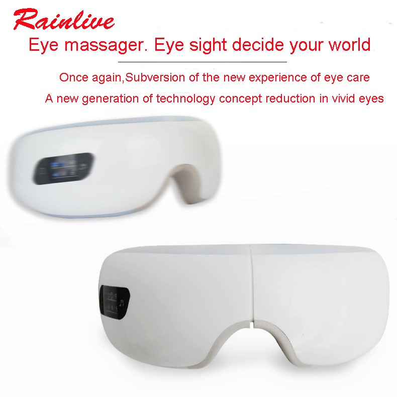 Eyes SPA Music SPA Electric Air pressure Eye massager . Wireless Vibration Magnetic heating therapy massage device. 17