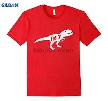 GILDAN 7th Birthday Dinosaur Shirt Age 7 For Boy Child Summer Dress T