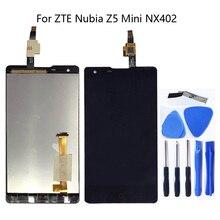 4.7 นิ้วสำหรับ ZTE Nubia Z5 MINI NX402 NX402J จอแสดงผล LCD หน้าจอสัมผัสสำหรับ ZTE Z5 MINI จอแสดงผล LCD ชุดซ่อม