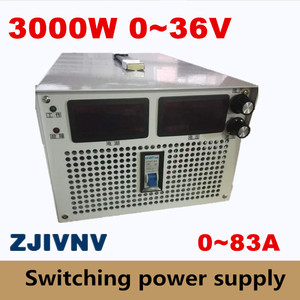 3000W 0~36v 0~83A voltage&curr