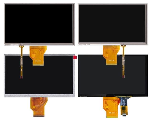 Pantalla LCD de 7 pulgadas de pantalla táctil AT070TN90 V.1 AT070TN90 V.X 20000938-00 resistencia capacitiva digitalizador con placa de controlador