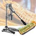 Jamielin Commercial 30 cm Type manuel Super Long fabricant de frites grande pomme de terre frites et Chips presse fruits Dispeser|Robots culinaires|   -