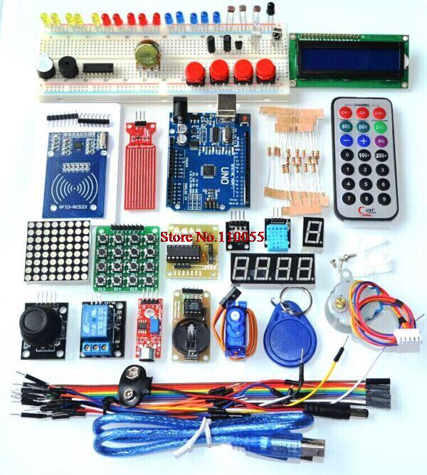 Actualizado versión avanzada Starter Kit RFID learn Suite kit lcd 1602 uno R3