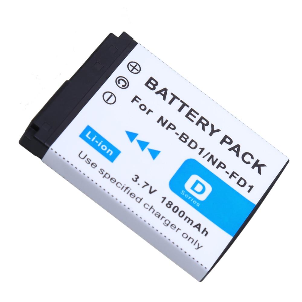 NP-FD1 NP-BD1 NP BD1 FD1 Caméra Li-ion Batterie Pour Origine SONY DSC T300 TX1 T900 T700 T500 T200 T77 T900 T90 T70 T2 G3 S930 Z1