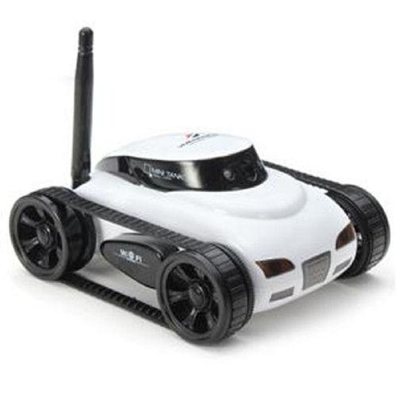 Blomiky RC Tank ISPY Wifi Controlled Wilreless Spy With Wi-Fi Hd Camera Support iPhone Android Happy